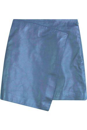 Dagmar Kvinna Skinnkjolar - Darda Leather Skirt