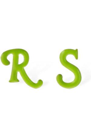 RAF SIMONS Man Örhängen - R & S Stud Earrings