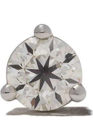 Delfina Delettrez Stiftörhängen i 18kt vitt guld med diamant