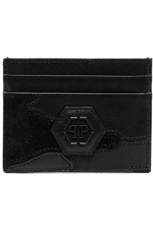 Philipp Plein Man Plånböcker - Korthållare med logotypplakett