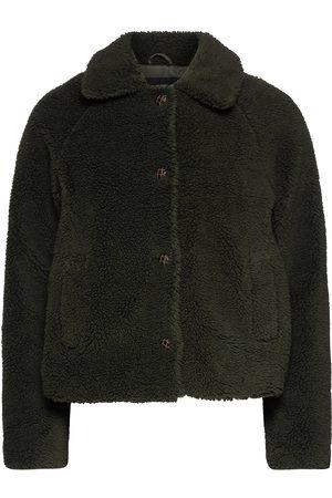 ONLY Onlemily Teddy Jacket Otw Outerwear Faux Fur Svart