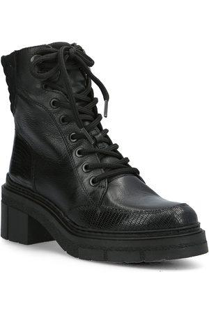unisa Kvinna Ankelboots - Jenil_cre_btj Shoes Boots Ankle Boots Ankle Boot - Flat