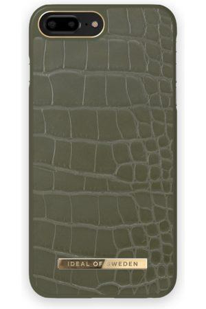IDEAL OF SWEDEN Mobilskal - Atelier Case iPhone 8 Plus Khaki Croco