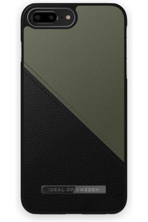IDEAL OF SWEDEN Mobilskal - Atelier Case iPhone 8 Plus Onyx Black Khaki