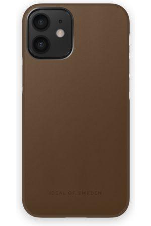 IDEAL OF SWEDEN Mobilskal - Atelier Case iPhone 12 Mini Intense Brown