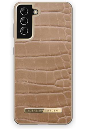 IDEAL OF SWEDEN Mobilskal - Atelier Case Galaxy S21 Plus Camel Croco