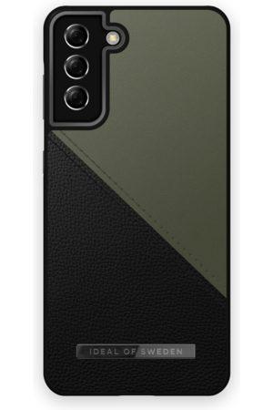 IDEAL OF SWEDEN Mobilskal - Atelier Case Galaxy S21 Plus Onyx Black Khaki