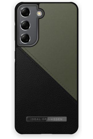 IDEAL OF SWEDEN Mobilskal - Atelier Case Galaxy S21 Onyx Black Khaki