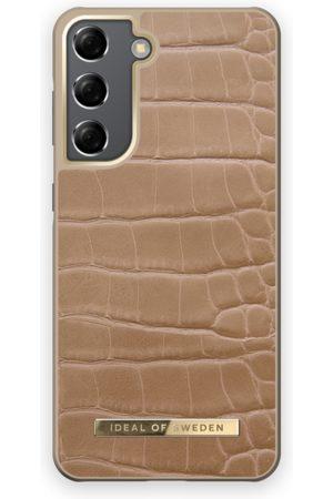 IDEAL OF SWEDEN Mobilskal - Atelier Case Galaxy S21 Camel Croco