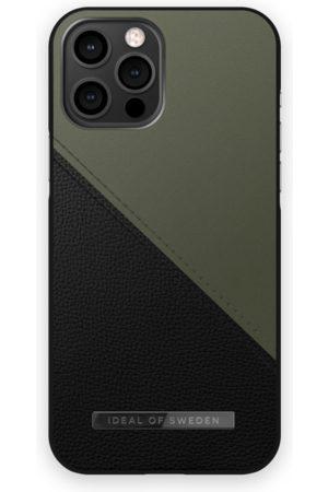 IDEAL OF SWEDEN Mobilskal - Atelier Case iPhone 12 Pro Max Onyx Black Khaki