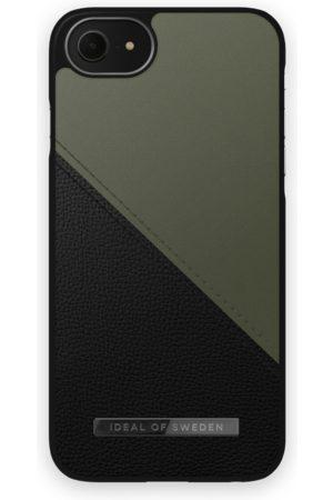 IDEAL OF SWEDEN Mobilskal - Atelier Case iPhone 8 Onyx Black Khaki