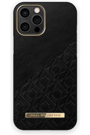 IDEAL OF SWEDEN Mobilskal - Atelier Case iPhone 12 Pro Max Embossed Black