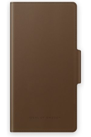IDEAL OF SWEDEN Mobilskal - Atelier Wallet iPhone 12 Intense Brown