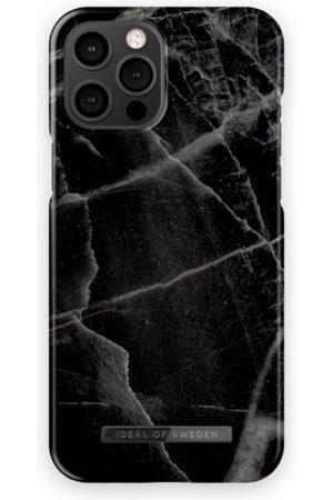 IDEAL OF SWEDEN Mobilskal - Fashion Case iPhone 12 Pro Max Black Thunder Marble
