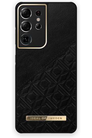 IDEAL OF SWEDEN Mobilskal - Atelier Case Galaxy S21 Ultra Embossed Black