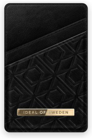 IDEAL OF SWEDEN Mobilskal - Atelier Magnetic Card Holder Embossed Black