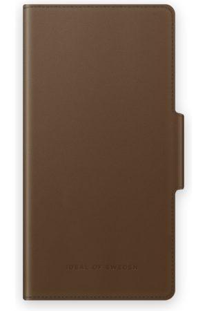 IDEAL OF SWEDEN Mobilskal - Atelier Wallet Galaxy S21 Intense Brown