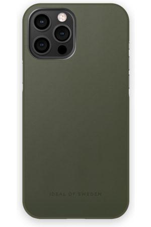 IDEAL OF SWEDEN Mobilskal - Atelier Case iPhone 12 Pro Max Intense Khaki