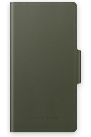 IDEAL OF SWEDEN Mobilskal - Atelier Wallet iPhone 12 Mini Intense Khaki