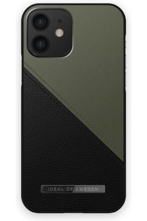 IDEAL OF SWEDEN Mobilskal - Atelier Case iPhone 12 Onyx Black Khaki