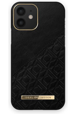 IDEAL OF SWEDEN Mobilskal - Atelier Case iPhone 12 Embossed Black