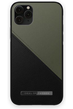 IDEAL OF SWEDEN Mobilskal - Atelier Case iPhone 11 Pro Onyx Black Khaki