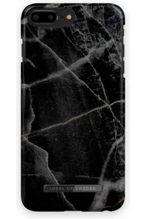 IDEAL OF SWEDEN Mobilskal - Fashion Case iPhone 8 Plus Black Thunder Marble