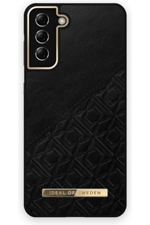 IDEAL OF SWEDEN Mobilskal - Atelier Case Galaxy S21 Plus Embossed Black