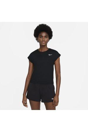 Nike Kvinna Kortärmade t-shirts - Kortärmad tenniströja Court Dri-FIT Victory för kvinnor