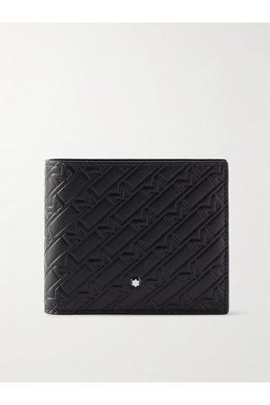 Montblanc Man Plånböcker - Logo-Embossed Leather Billfold Wallet