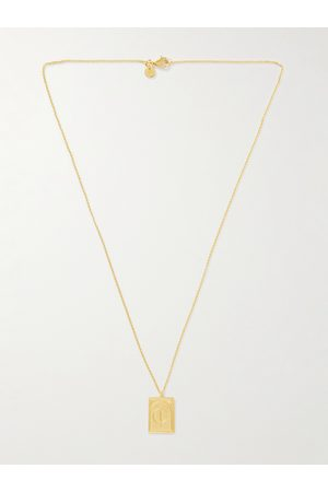 TOM WOOD Man Halsband - Plated Pendant Necklace