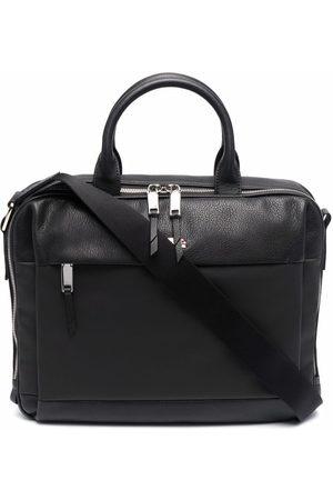 Bally Man T-shirts - Logo top-handle briefcase
