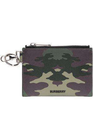 Burberry Man Plånböcker - Kamouflagemönstrad pouch