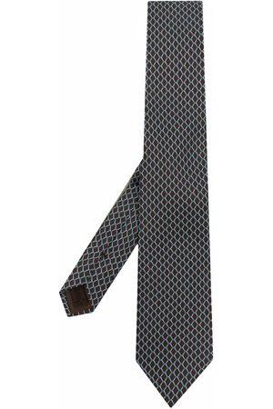 Church's Man Slipsar - Geometric-print silk tie