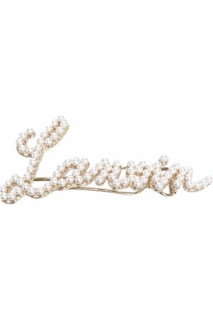 Lanvin Hårspänne med pärlor