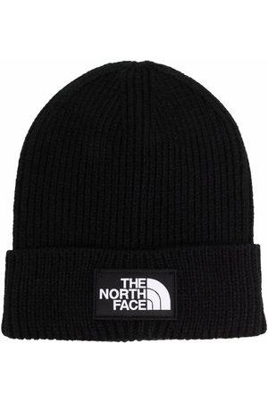 The North Face Ribbad mössa med logotypmärke