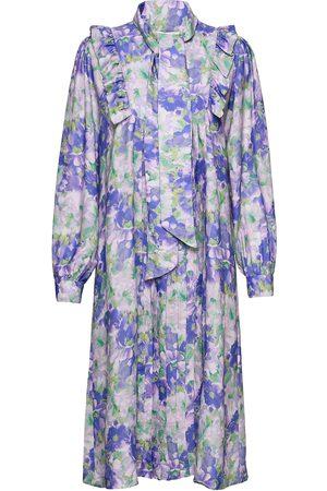 Mads Norgaard Kvinna Mönstrade klänningar - Recy Poly Dandy Dresses Everyday Dresses Multi/mönstrad