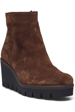 Gabor Kvinna Ankelboots - Ankle Boot Shoes Boots Ankle Boots Ankle Boot - Flat