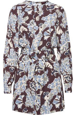 Reiss Kvinna Mönstrade klänningar - Abbie Dresses Everyday Dresses Multi/mönstrad