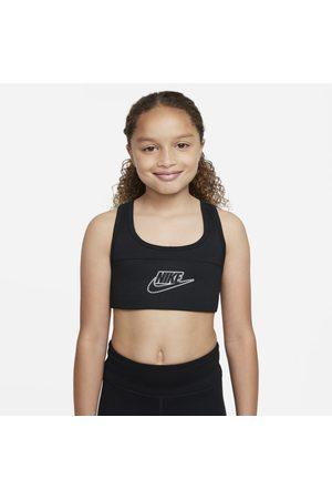 Nike Kvinna Sport BH - Sport-BH Dri-FIT Swoosh för tjejer