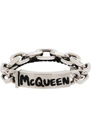 Alexander McQueen Man Armband - Graffiti chain bracelet