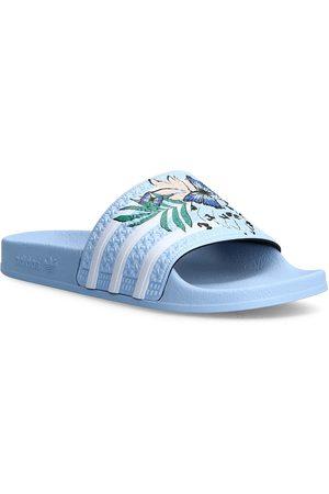 adidas Barn Tofflor - Adilette Slides Shoes Summer Shoes Pool Sliders Blå