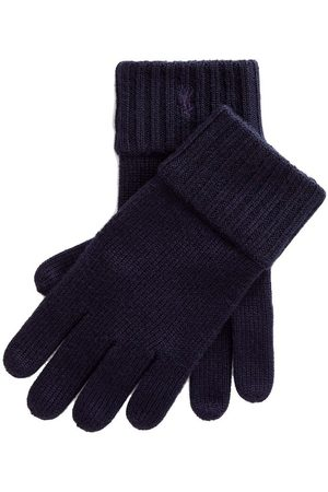Ralph Lauren Pikétröjor - Polo Handskar - Ull - Marinblå