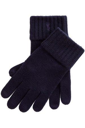 Ralph Lauren Polo Handskar - Ull - Marinblå