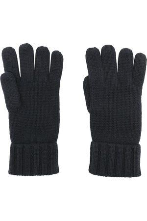 N.PEAL Handskar - Grovstickade handskar i organisk kashmir