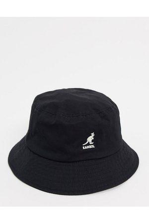 Kangol Man Hattar - – fiskarhatt med kontrasterande vit logga- /a