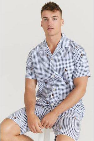 Polo Ralph Lauren Pyjamas S/S PJ Set-Sleep Set Blå