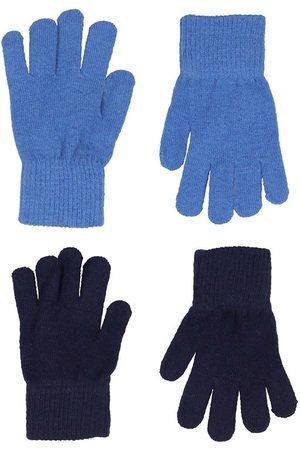 CeLaVi Handskar - Ull/Nylon - 2-pack - Bright Cobalt/Marinblå