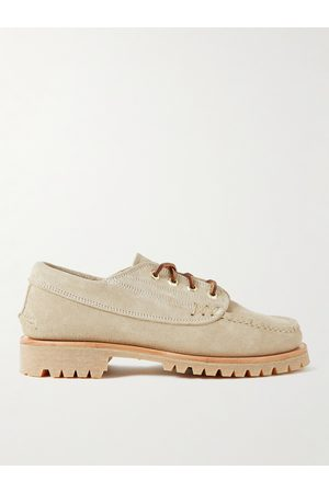 YUKETEN Man Loafers - Angler Moc Suede Boat Shoes