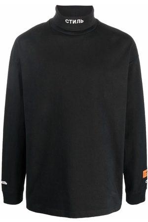 Heron Preston Man Sweatshirts - СТИЛЬ tröja med rullkrage